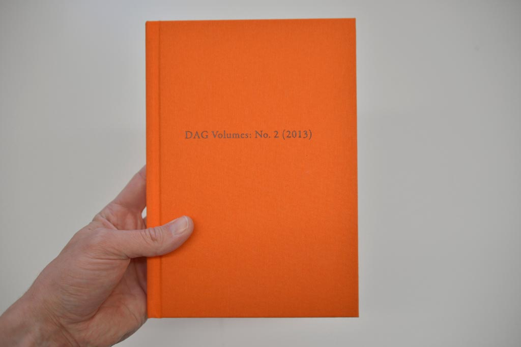DAG Volumes: No. 2 (2013)